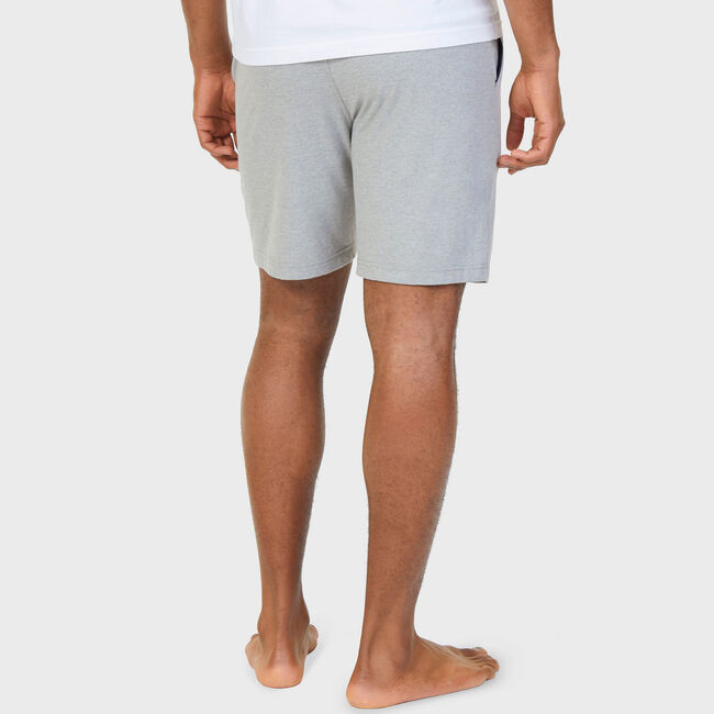 Big & Tall Sleep Shorts,Grey Heather,large