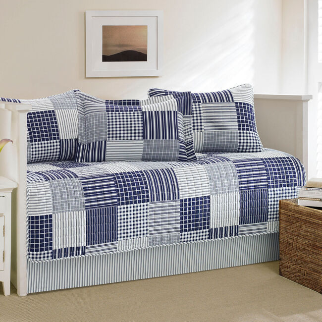 Key Haven Daybed Set,Navy,large