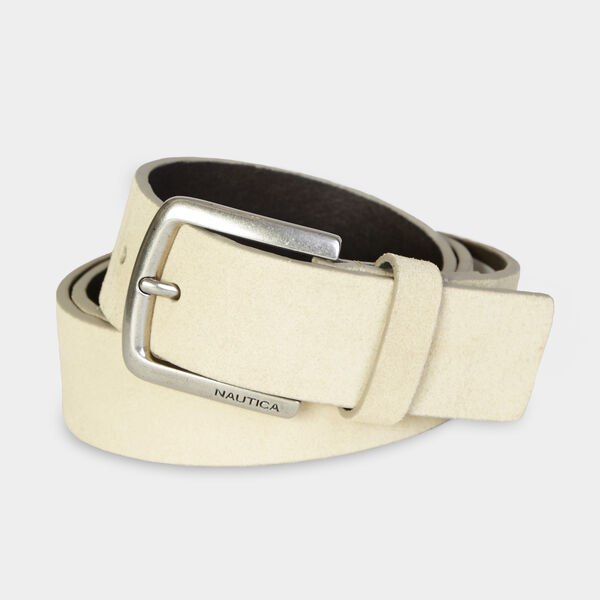 Suede Belt - Tobacco