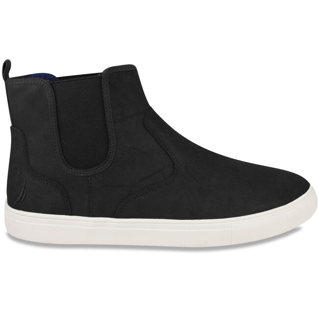 Cutwater Slip-On High-Top Sneakers,Black,large