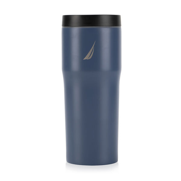 J-CLASS DOUBLE-WALLED STAINLESS STEEL PUSH-BUTTON TUMBLER - Ice Blue