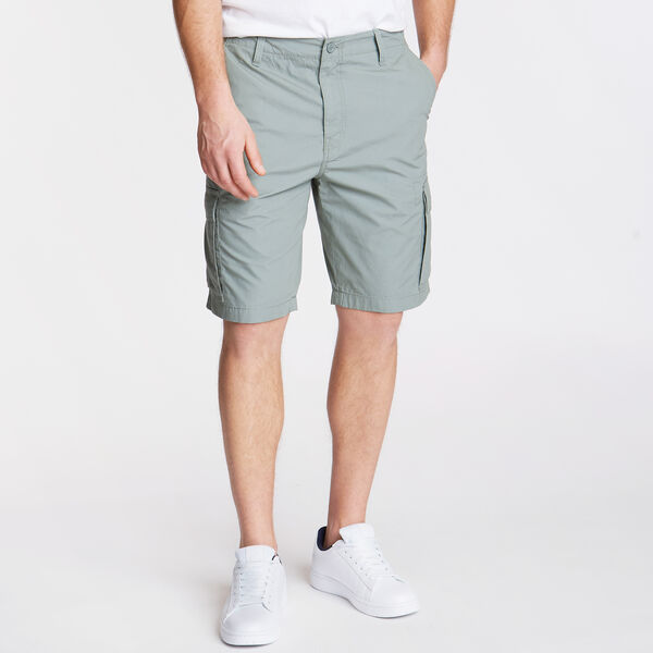 "10"" Poplin Cargo Short - Seal Grey"