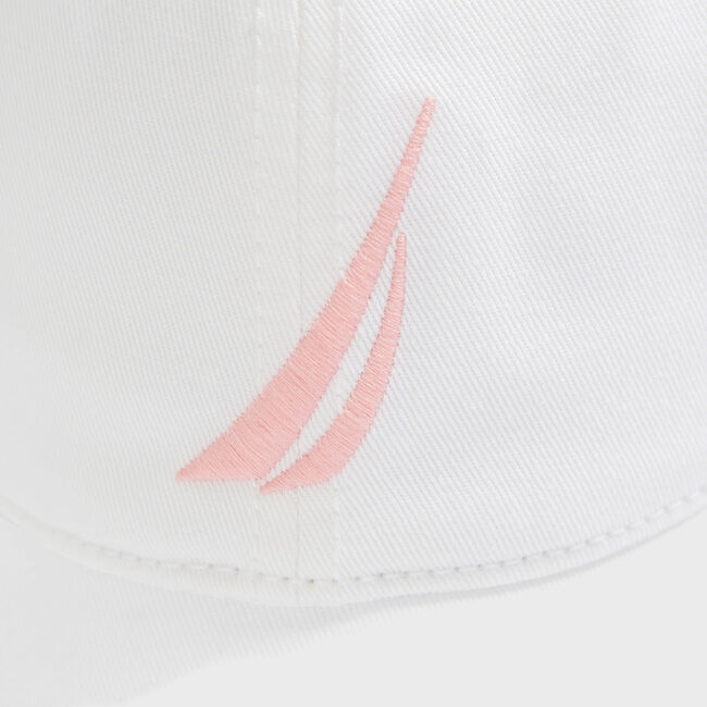 J-CLASS EMBROIDERED CAP,Bright White,large