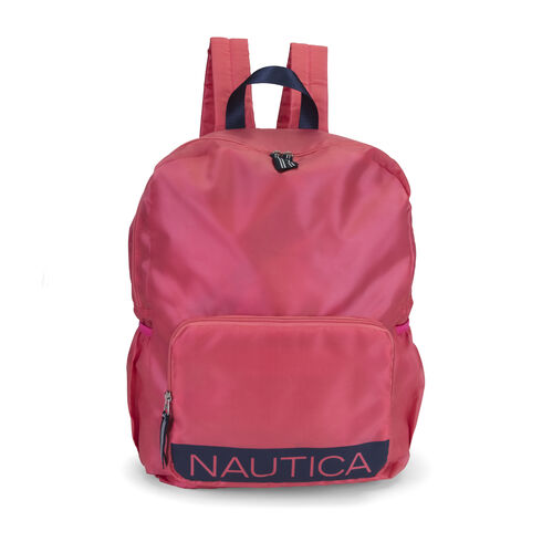 New Tack Packable Backpack - Coral