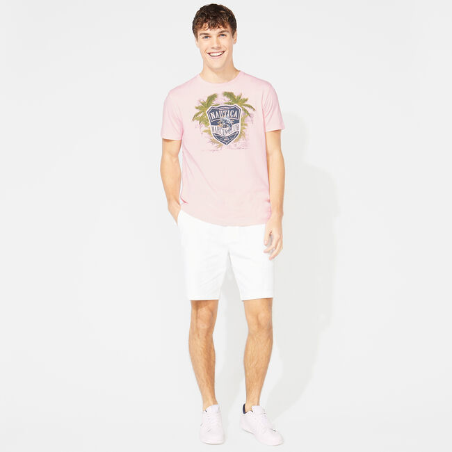 MARLIN SHIELD GRAPHIC T-SHIRT,Orchid Pink,large