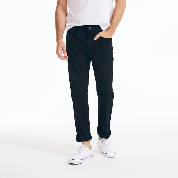 STRAIGHT FIT DENIM - Charcoal
