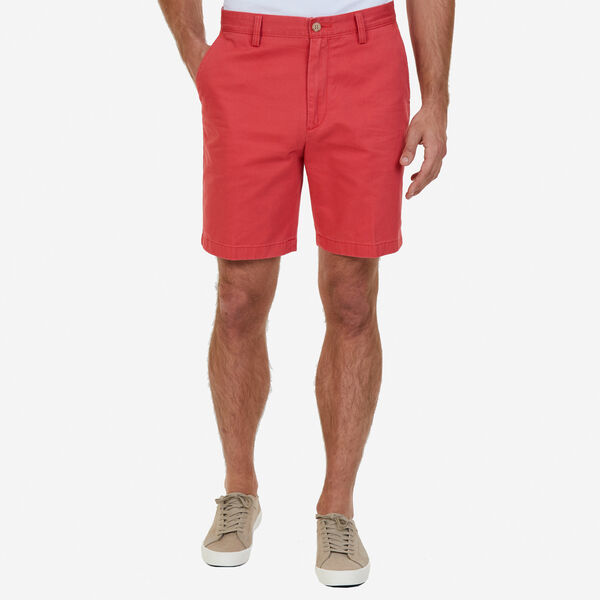 "8.5"" Flat Front Deck Short - Sailor Red"