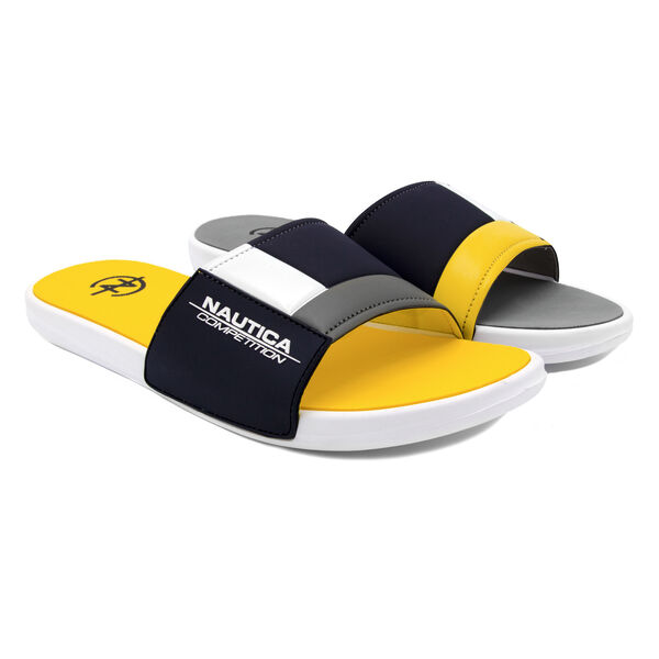 NAUTICA COMPETITION SLIDE IN YELLOW COLORBLOCK - Nautica Yellow