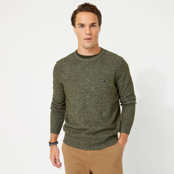 SUSTAINABLY CRAFTED J-CLASS SWEATER - Olive