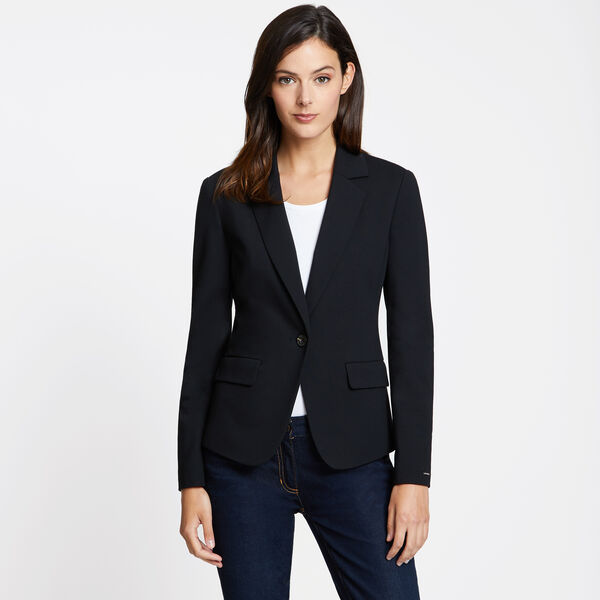 Ponte Blazer - True Black