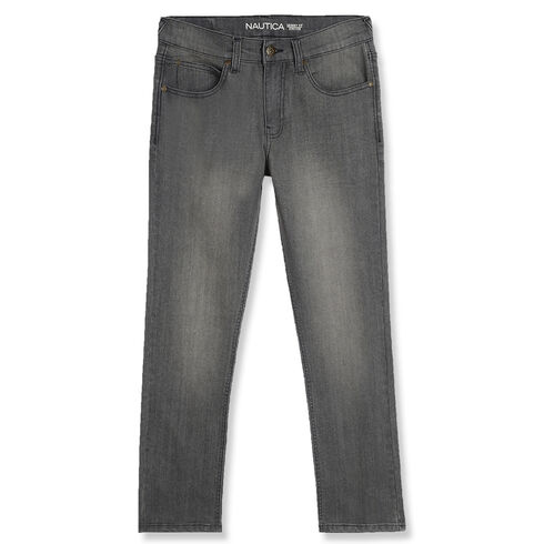 Little Boys' Skinny Fit Jeans (4-7) - Pebble Grey