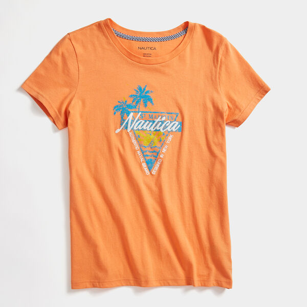 TROPICAL GRAPHIC T-SHIRT - Coral Reef Heather
