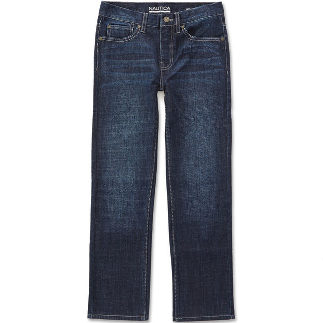 Toddler Boys' Stanley Straight Leg Jeans (2T-4T),Deep Navy Heather,large