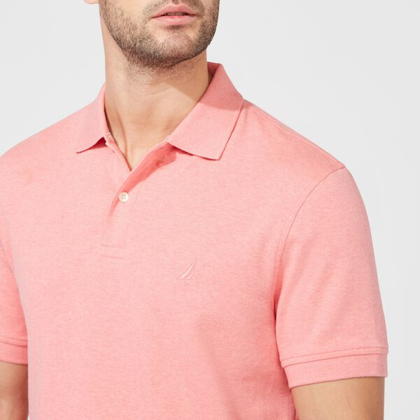CLASSIC FIT PREMIUM COTTON POLO - Pink Clay
