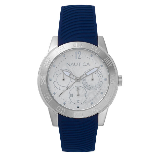 65d0dbf18 Long Beach Water Resistant Watch,Navy,large ...