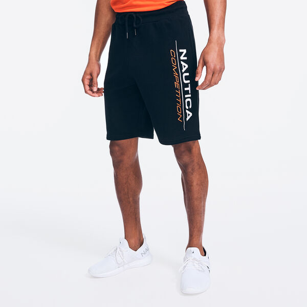 COMPETITION LOGO KNIT SHORT - True Black