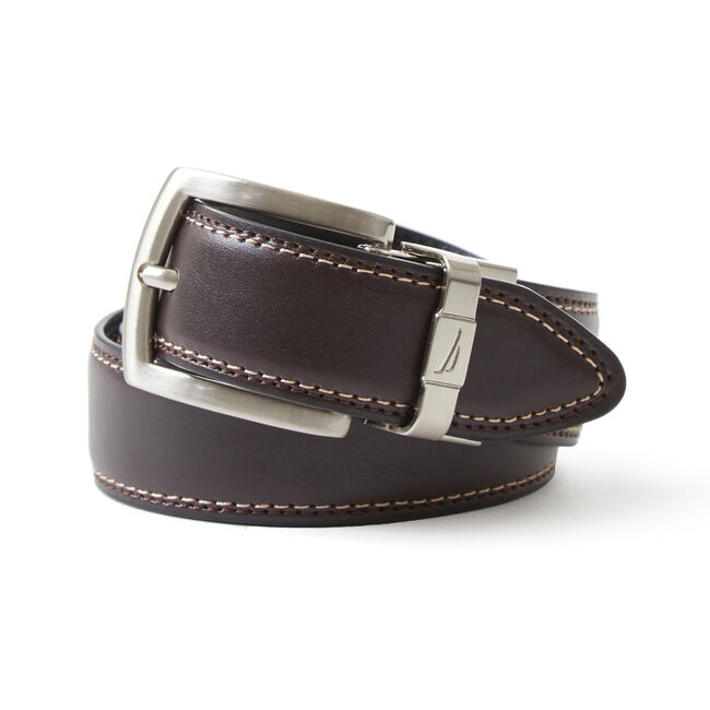 Boys' Casual Belt (8-16),Cream,large