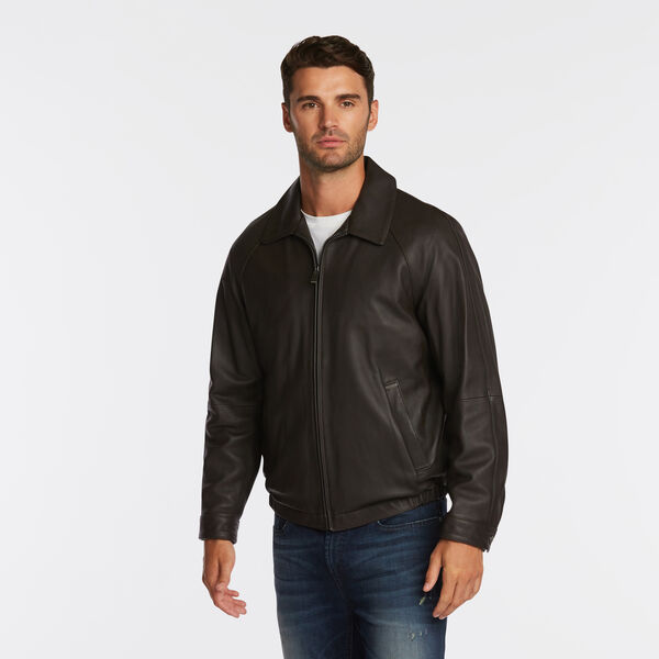 GENUINE LEATHER JACKET - Multi