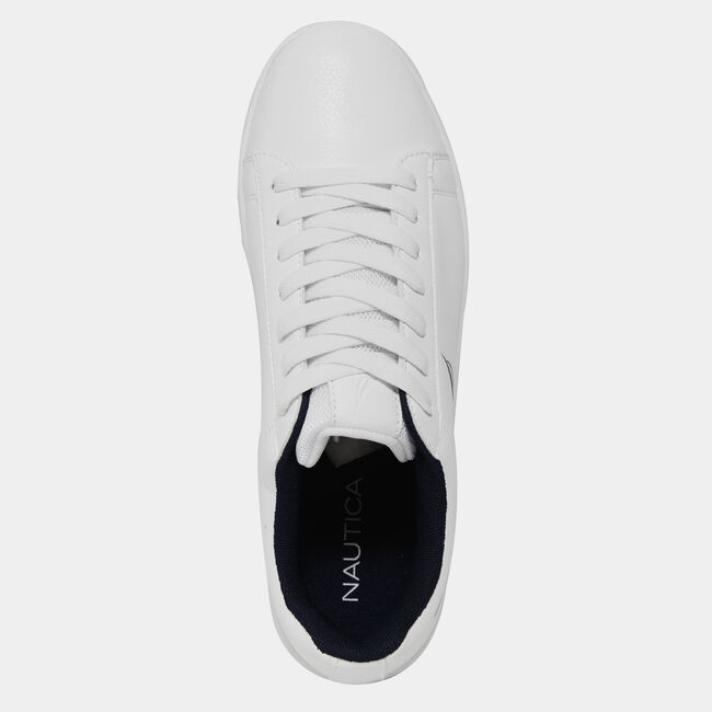 CLASSIC LOW TOP SNEAKER,Antique White Wash,large