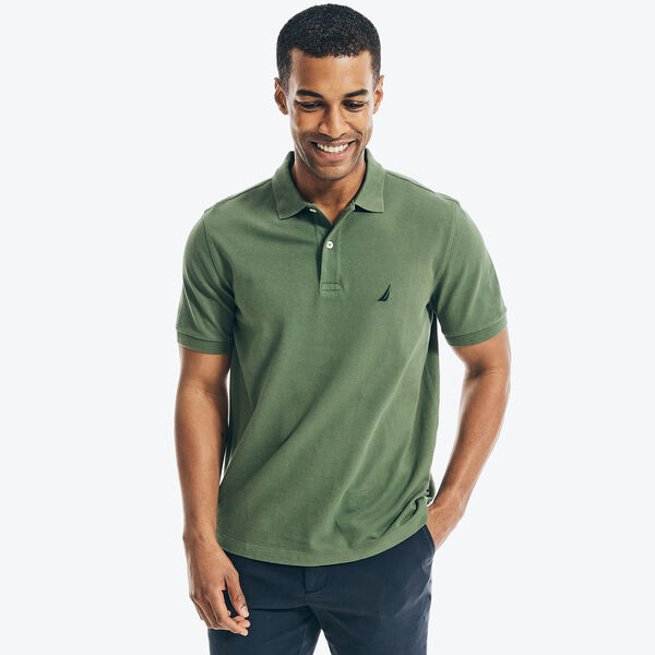 Classic Fit Deck Polo Shirt - Pineforest