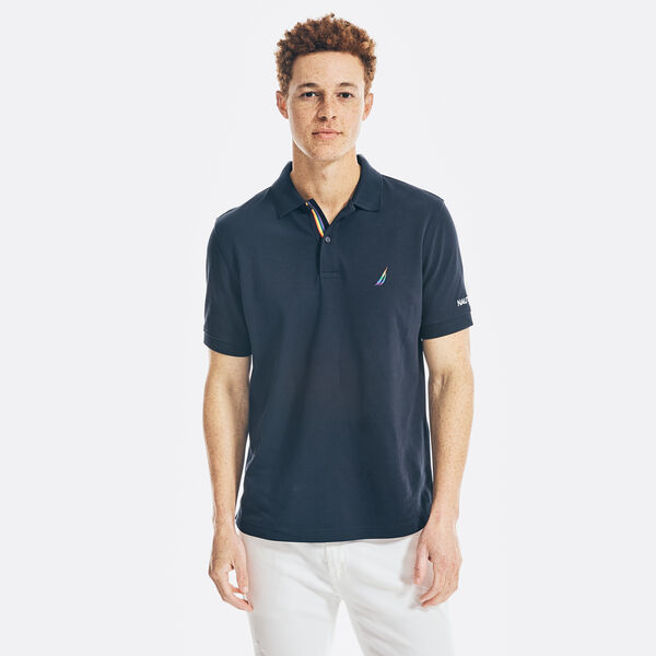 CLASSIC FIT PRIDE POLO - Navy