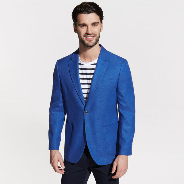 Jensen Jacket in Cobalt - Ice Blue