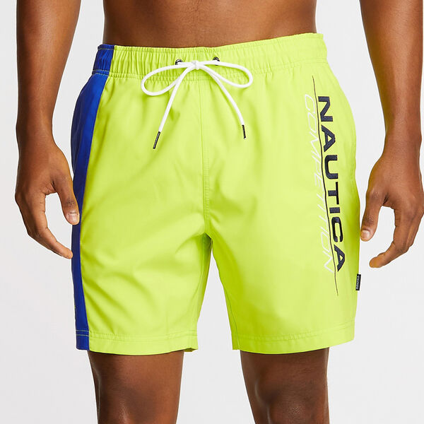 "6"" COMPETITION STRETCH SWIM TRUNK - Tropic Lime"