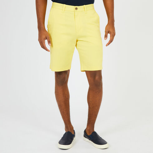 "Solid Stretch Slim Fit Shorts - 9.5"" Inseam - Light Mimosa"