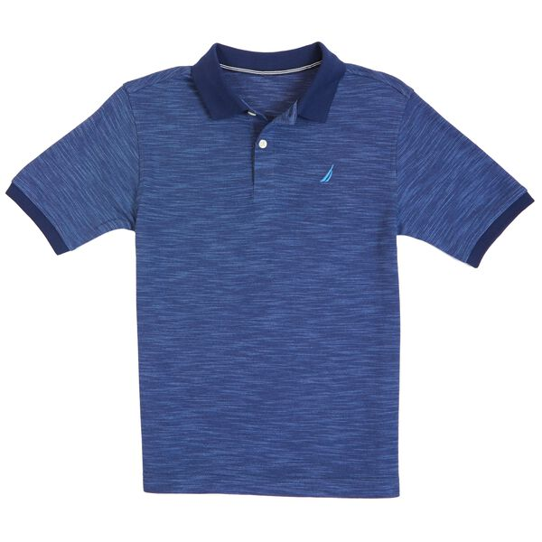 Toddler Boys' Marled Polo Shirt (2T-3T) - Stormy Blue Wash