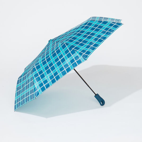 PLAID SPRUCE UMBRELLA - Kelly Green