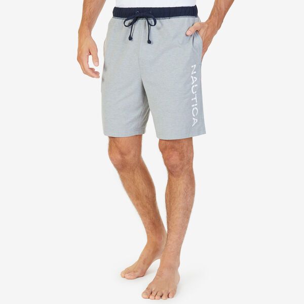 Heritage Logo Sleep Shorts - Grey Heather