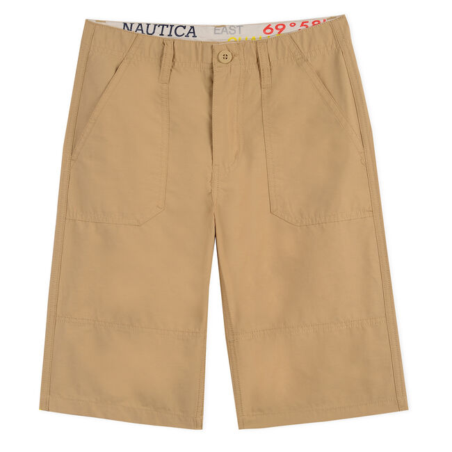 Toddler Boys' Discovery Utility Short (2T-4T),Dark Oatmeal Heather,large