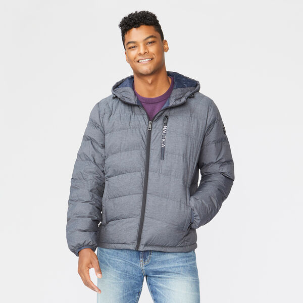 HOODED JACKET - Grey Shadow