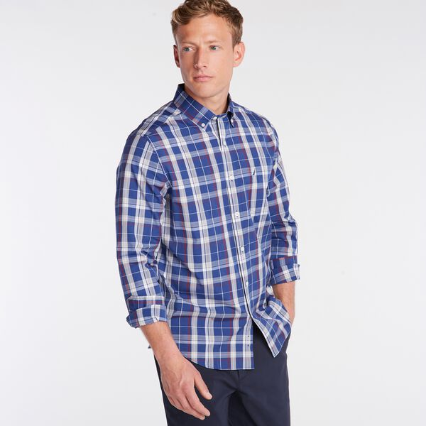 PLAID SHIRT - Blue Depths