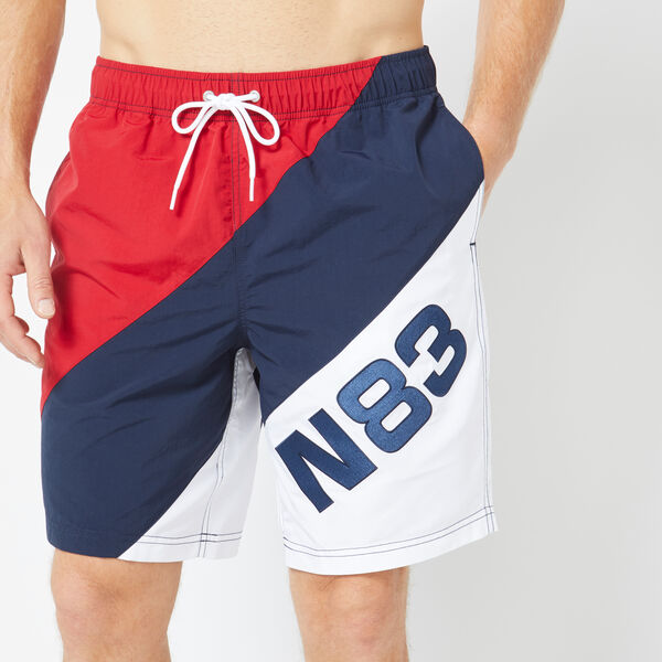 "8"" N83 COLORBLOCK QUICK-DRY SWIM - Navy"