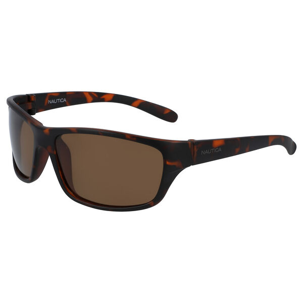Oversized Sunglasses with Tortoise Frame - Matte Dark Tortoise