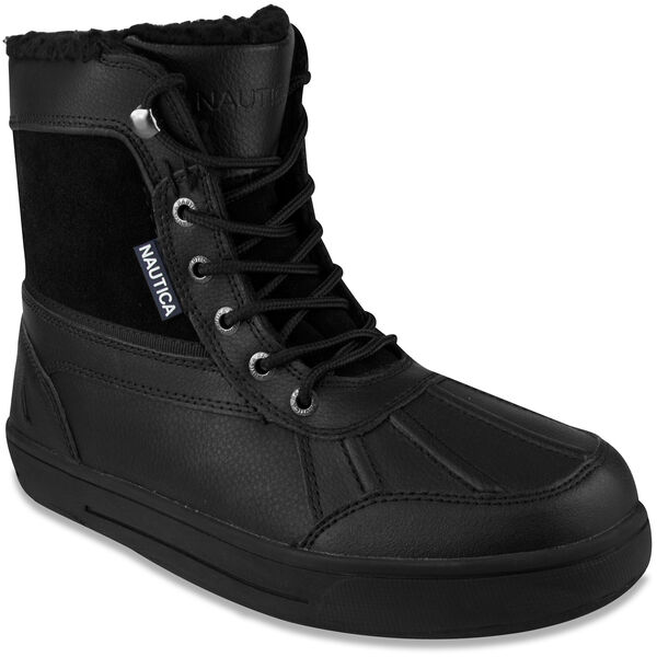 Lockview Lace-Up Boots - Black - True Black