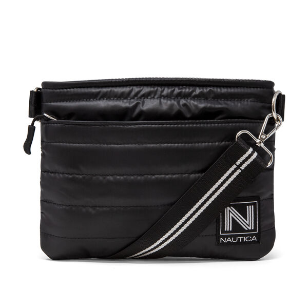 WORKING TIDAL CROSSBODY BAG - True Black
