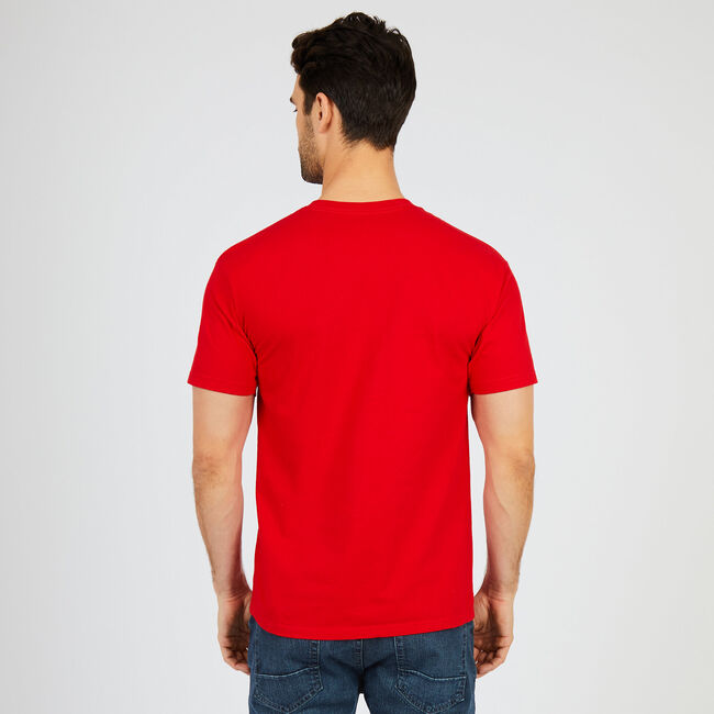 'N' 1983 Graphic T-Shirt,Nautica Red,large