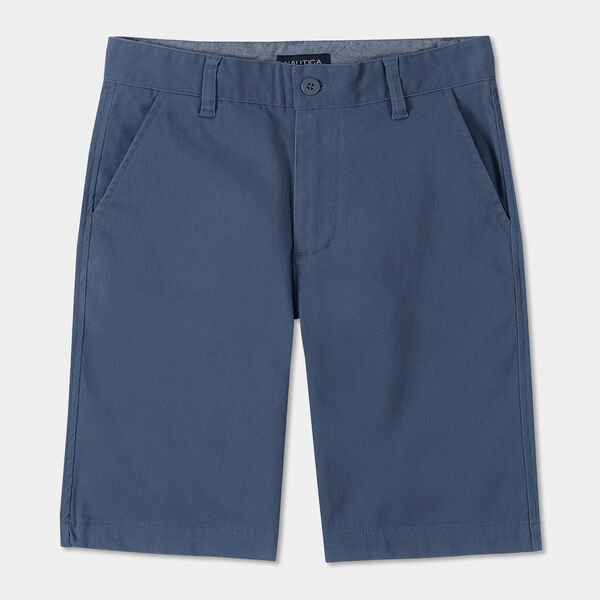 TODDLER BOYS' CONNOR TWILL SHORTS (2T-4T) - Bolt Blue