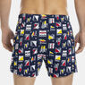 KNIT BOXER IN SAILBOAT PRINT,Dock Blue,large