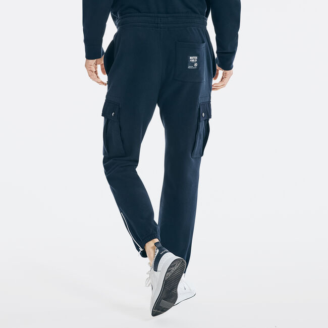 NAUTICA JEANS CO. CARGO JOGGER,Navy,large