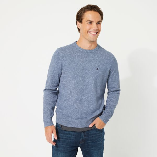 SUSTAINABLY CRAFTED J-CLASS SWEATER - Sea Mist