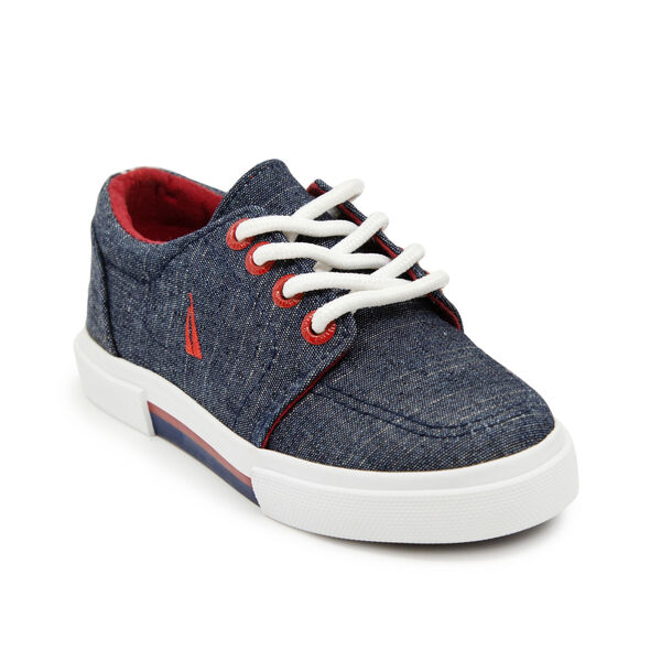 BOY'S RUGGED SOLE SNEAKER - Pure Deep Sea Wash