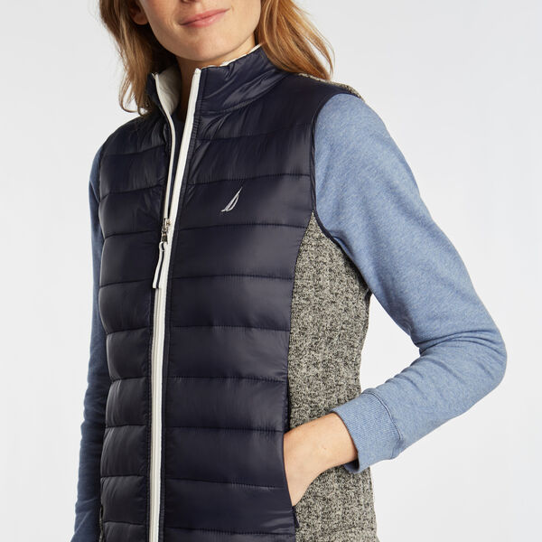 WOMEN'S TEMPASPHERE VEST - Stellar Blue Heather
