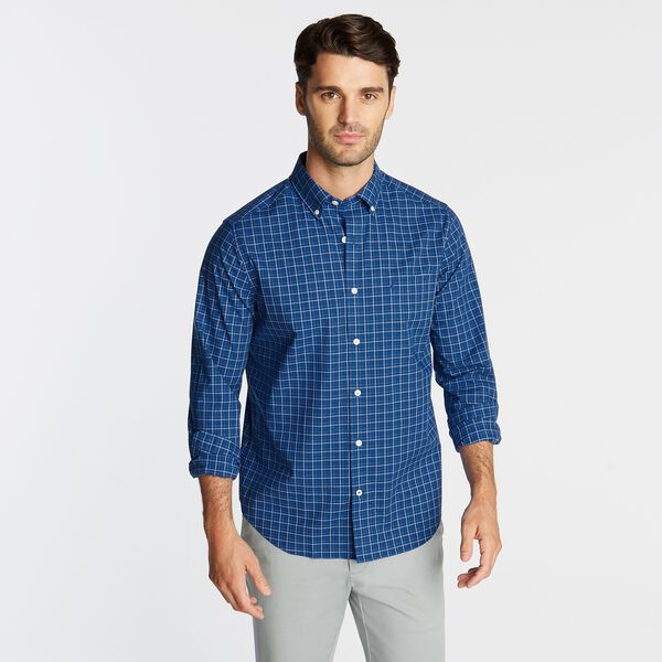 CLASSIC FIT WRINKLE RESISTANT SHIRT IN PLAID - Limoges