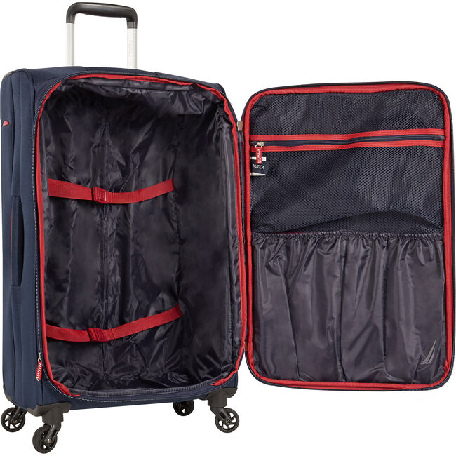 """Dodger 21"""" Expandable Spinner Luggage,Navy,large"""