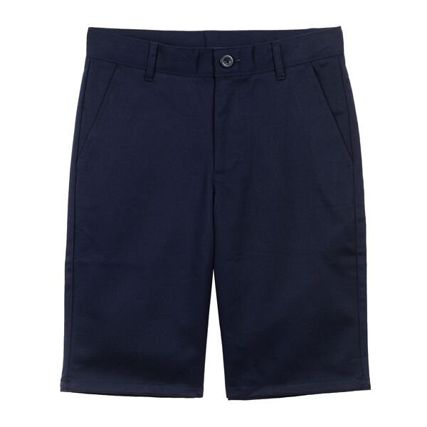 Boys' Uniform-Ready Shorts (8-16) - Workshirt Blue