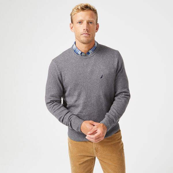 SUSTAINABLY CRAFTED J-CLASS SWEATER - Grey Carbon