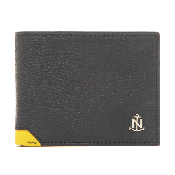 DAVEY TRAVELER BIFOLD WALLET IN NAVY - Navy